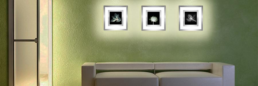 """Встраиваемый настенный светильник """"Большая волна в Канагаве"""""""