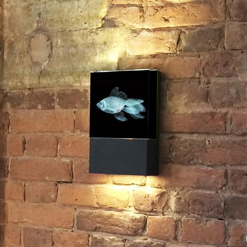 """Настенный светодиодный светильник """"Золотая рыбка"""""""