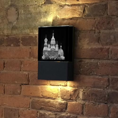 """Настенный светодиодный светильник """"Храм Спаса-на-Крови"""""""