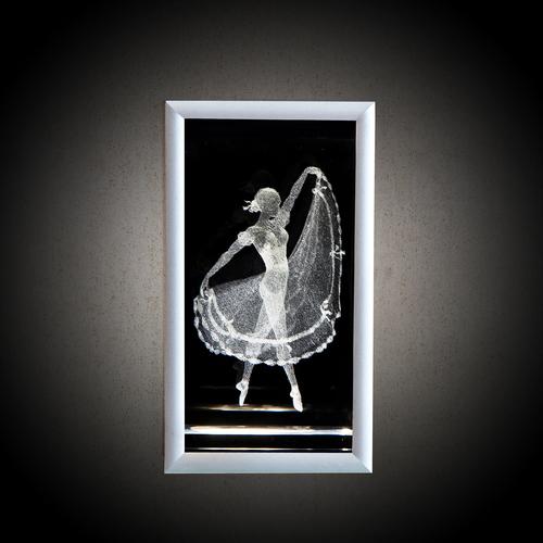 """Встраиваемый настенный светодиодный светильник """"Балерина"""""""