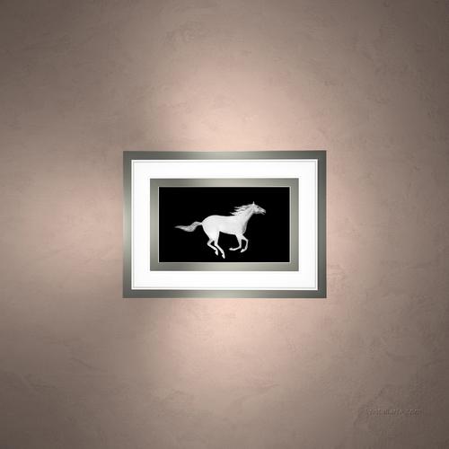 """Встраиваемый светильник """"Лошадь"""""""