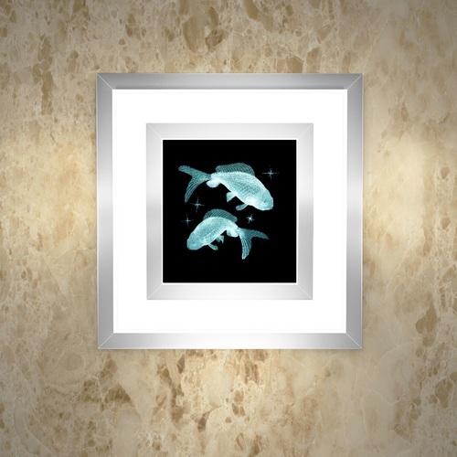 """Встраиваемый настенный светильник """"Рыбы"""""""