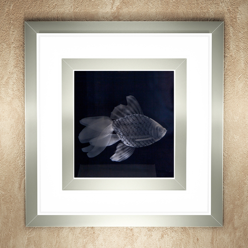 """Встраиваемый настенный светильник """"Золотая рыбка"""""""