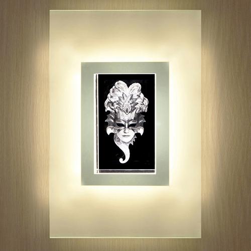 Настенный светодиодный светильник Венецианская маска