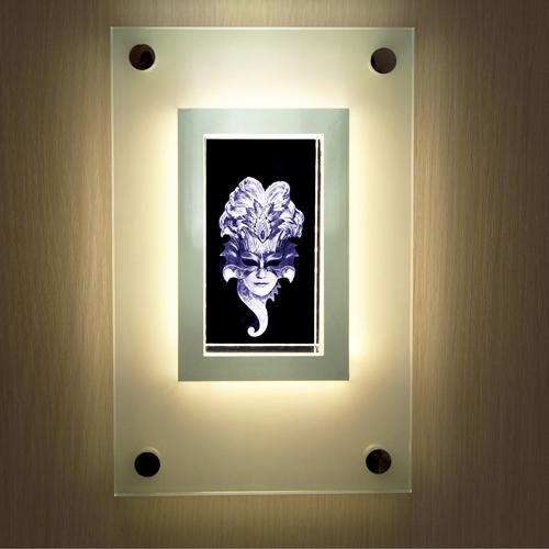 """Встраиваемый настенный светильник """"Венецианская маска"""""""